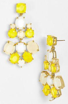 Yellow bling.