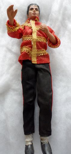 VINTAGE MICHAEL JACKSON Doll Circa 1984  As Is by BYGONERA on Etsy, $60.00