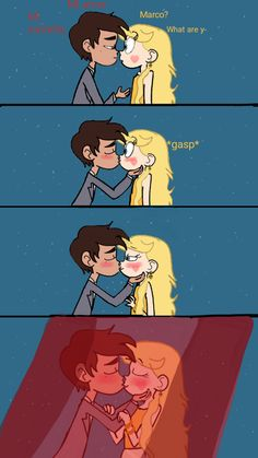 If you don't want spoilers for the new episode i suggest you not read this description: ) Ok soo just saw the new episode..wow I mean yes a jarco kiss before a starco kiss .....i ..gosh.. But it's ...