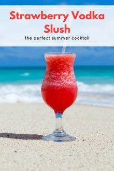 Strawberry vodka slush recipe its the perfect summer cocktail strawberry vodka slush is the best summer cocktail recipe ever you only need 6 ingredients fandeluxe Choice Image
