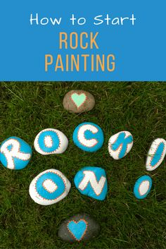 How to Start Rock Painting @montanahappy.com