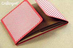 Light Up: Tutorial mini álbum em scrapbook