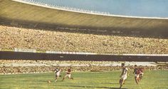Maracanã, Vasco x Flamengo, anos 50