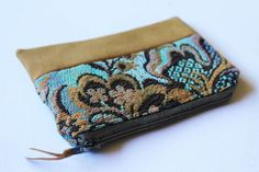 Leaf Hippie Purse Zipper Card Holder Coin Purse Change