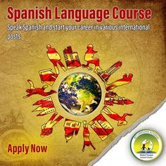 Speak Spanish and start your career in various international posts Spanish Language Courses, Interview Training, How To Speak Spanish, Cursed Child Book, How To Introduce Yourself, Career, How To Apply, Posts, Learning