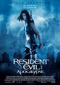 Resident Evil: Apocalypse Movie Poster #3 - Internet Movie Poster Awards Gallery