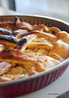 Recette Apple pie, la tarte aux pommes anglaise - Marcia Tack