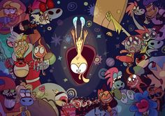 Wonder Over Yonder, Craig Mccracken, Lord Dominator, Ship Art, Cosmic, Wander, Cartoons, Fan Art, Adventure