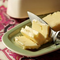 Never thought of making homemade butter...but this makes me want to try it.