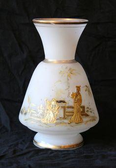 Vase En Opaline XIXème, Antiquités Guillaume Rullier, Proantic