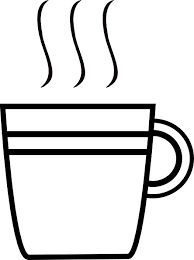 Image result for coloring page of a tea cup
