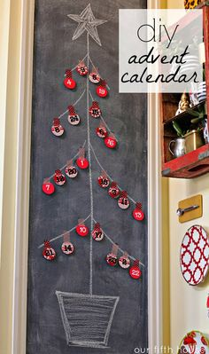 simple and sweet advent calendar