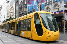Melbourne Trams. Many people don't view Australia as having any modern features. Actually, Australia is very proficient in modern technology.