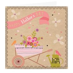 Happy Mother's Day Card at Whistlefish Galleries - handpicked contemporary & traditional art that is high quality & affordable. Available online & in store
