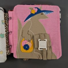 I'm looking through google for quiet book ideas and this looks way familiar--I wear it was in MY quiet book!  Momma--is this the same?