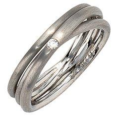 Dreambase Damen-Ring mattiert Platin 1 Diamant 0.025 ct. ... https://www.amazon.de/dp/B00AEEFWL4/?m=A37R2BYHN7XPNV