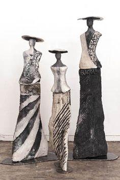 5 Tips and Tricks to Improve Your Pottery Skills – Voyage Afield Raku Pottery, Pottery Sculpture, Sculptures Céramiques, Sculpture Art, Ceramic Figures, Ceramic Art, Pottery Supplies, Pottery Techniques, Mural Art