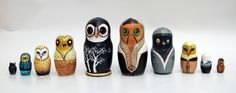 Russian Owls by Caleigh Illerbrun, via Behance