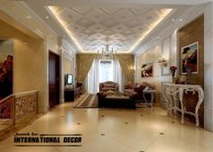 False Ceiling Design Small ApartmentCeiling design Small