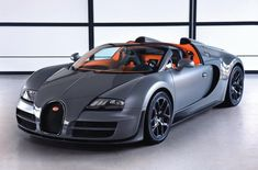 Bugatti Veyron Grand Sport Vitesse - just something for the weekend.