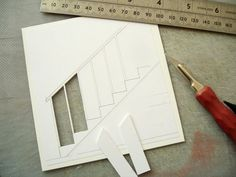 Posts about making a model spiral staircase written by david neat Architecture Model Making, Concept Architecture, Model Building, Architecture Diagrams, Architecture Portfolio, Diy Dollhouse, Dollhouse Furniture, Dollhouse Miniatures, Cardboard Dollhouse