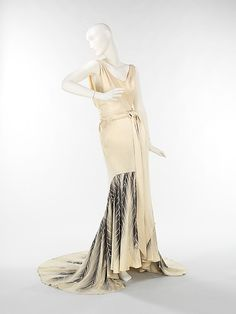 Evening Dress 1932-1934 The Metropolitan Museum of Art