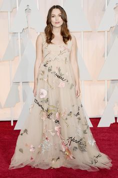 Actress Keira Knightley attends the 87th Annual Academy Awards at Hollywood & Highland Center on February 22, 2015 in Hollywood, California.