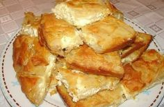Greek Cheese Pie, Cheese Pies, Good Food, Yummy Food, Amazing Cakes, Feta, French Toast, Food Porn, Sweet Home