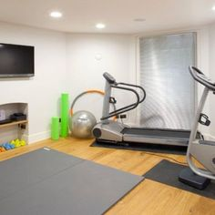 A Small Home Gym Equipment Mirror Be Pretty Pinterest - Small home gyms
