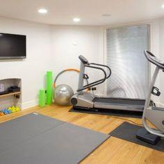 A Small Home Gym Equipment Mirror Be Pretty Pinterest - Small home gym equipment