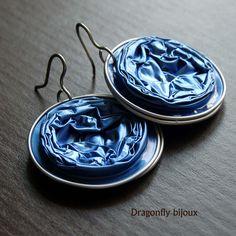 recy nespresso earrings in blue