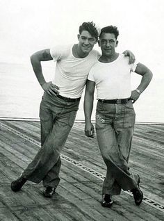 Vintage male couples photos.....how great is this photo?