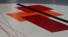"""dettaglio """"piazza centrale"""", ristrutturazione Centro Commerciale Quinzio, Reggio Emilia"""