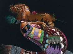 African American Woman Art | art gallery features the artwork of internationally acclaimed fine art ...