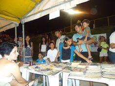 Vista parcial de stand do Clube dos Quadrinheiros de Manaus no 1º Circuito de Cultura Urbana Magdalena Arce Daou, nos dias 21, 22 e 23 de setembro em 2012, no Centro de Convivência da Família Magdalena Arce Daou.