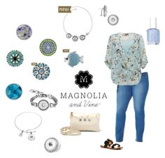 "New direct sales company Magnolia and Vine has the most ""on trend"" jewellery and accessories ! www.bloomingbling.com"