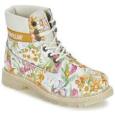 4f1708c79063a5 Caterpillar - COLORADO FLOWERS. Caterpillar SchuheSchuhe FrauenWeiße ...