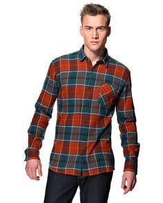 Selected 'Mallen' langærmet skjorte