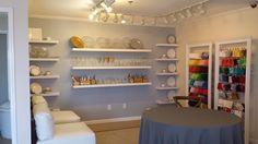 Hendersonville Showroom Makeover - Party Rental Showroom