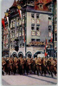 8500 Nürnberg Reichsparteitag Propaganda WK II: Ansichtskarten-Center Onlineshop