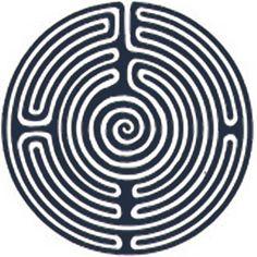 maze tattoo design inspired Alyssa's netherling birthmark