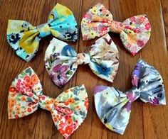 Colourful Patterned Bows