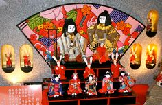 "Girls day, Hina Matsuri. Each year, Japanese girls eagerly await the third of March, called Hina Matsuri, or Doll's Festival. In Japanese, ""hina"" means ""small doll."" Girls display their most precious dolls on a seven-tiered platform in their home. Families visit shrines and pray for the health and happiness of their girls"