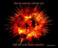 """#Wilhelm_Busch: """"Bist du wütend..."""
