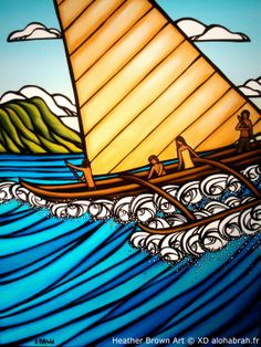 heather brown surf art | Heather Brown