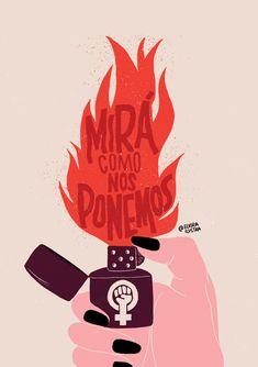 feminist art on Behance Feminist Tattoo, Feminist Quotes, Feminist Art, Girl Power Tattoo, Protest Posters, Girls Be Like, Art Inspo, Illustrators, Illustration Art