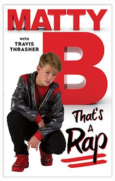 Thats a Rap MattyB Book #MattyB #MattyBRaps #Matt  http://undy-blog.blogspot.com/2016/03/thats-rap-by-mattyb.html
