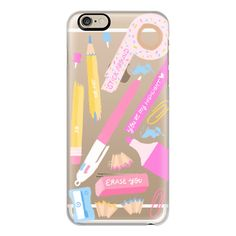 iPhone 6 Plus/6/5/5s/5c Case - Back To School Fall Stationary Art... ($40) ❤ liked on Polyvore featuring accessories, tech accessories, phone cases, phones, iphone, iphone case, pattern iphone case, iphone cover case, apple iphone cases y print iphone case