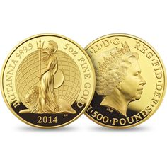 The Britannia 2014 Five Ounce Gold Proof Coin £7,500.00 http://www.royalmint.com/our-coins/ranges/britannia