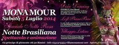 Speciale Notte Rosa 2014 al Monamour Rimini.